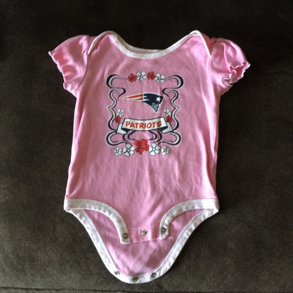 NEW NY New York Jets NFL Baby Girls Sleeper Romper Size 12M 12 Mo Coverall NWT